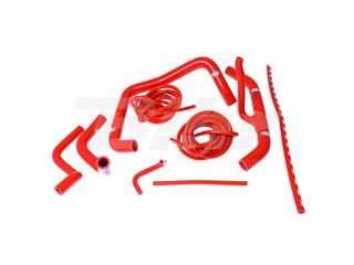 Kit manguitos Samco Honda rojo HON-27-RD