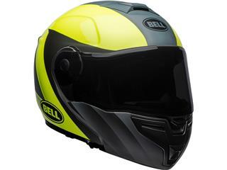BELL SRT Modular Helmet Presence Matte/Gloss Grey/Neon Yellow Size XXL - 16e05768-968a-4fb0-ac33-385e9f528bb3