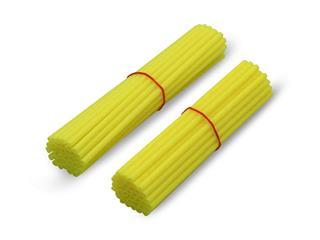 """ART Spoke Skin Neon Yellow for 21"""" Front Wheel /18""""-19"""" Rear Wheel - 448423"""