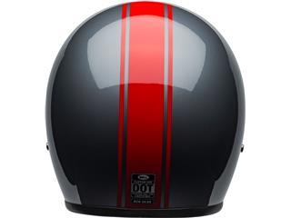 BELL Custom 500 DLX Helmet Rally Gloss Gray/Red Size M - 171a6033-2044-49db-8cfa-4a521cf92860