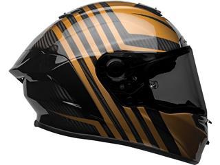 BELL Race Star Flex DLX Helmet Mate/Gloss Black/Gold Size L - 1758088a-a6db-4288-93cc-b2ed31154737
