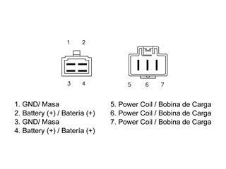 Régulateur TECNIUM type origine Honda - 1793598d-e170-450b-bd5a-da2984780b91