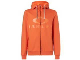 OAKLEY Bark FZ Hoodie Energy Orange Size S - 825000220668