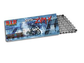 Chaîne de transmission D.I.D 525 ZVM-X noir/noir 118 maillons