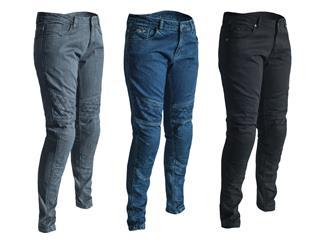 RST Aramid Pants CE Textile Dark Blue Size L Women - 188115d9-ec59-46eb-9ace-fec743bc9337