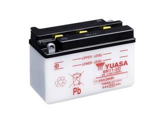 Batterie YUASA 6N11-2D conventionnelle - 326N112D