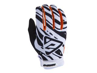 ANSWER AR3 Gloves White/Black/Orange Size XXL