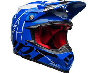 Casque BELL Moto-9 Flex Fasthouse DID 20 Gloss Blue/White taille L - 18dc909a-e463-465a-b969-6e316272806e