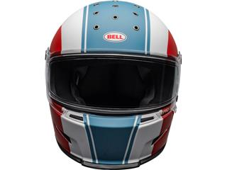 Casque BELL Eliminator Slayer Matte White/Red/Blue taille XL - 190d028e-f678-4bca-ae58-15d08990c5d3