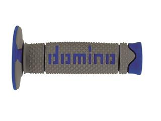 DOMINO A260 DSH Full Diamond Grips Grey/Blue