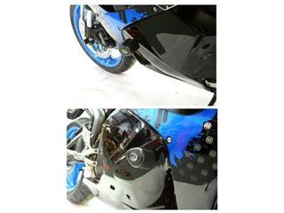 R&G RACING Aero Crash Pads Black Honda CBR600RR