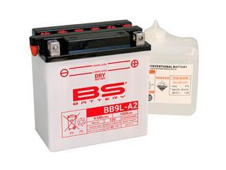 Batterie BS BATTERY BB9L-A2 conventionnelle livrée avec pack acide - 321277