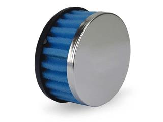 V PARTS Straight Air Filter Ø28/35mm Blue