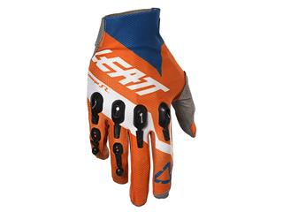 LEATT GPX 4.5 Lite Gloves Orange/Denim Size S/EU7/US8