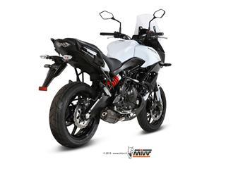 Komplettanlage MIVV SUONO Stahl schwarz Kawasaki Versys 650