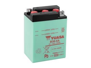 Batterie YUASA B38-6A conventionnelle