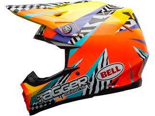 Casque BELL Moto-9 Mips Tagger Breakout Orange/Yellow taille L - 1a9362e3-1f69-4537-84e3-0c80d4ccc523