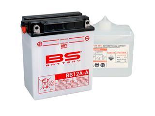 Batterie BS BATTERY BB12A-A haute performance livrée avec pack acide - 321841