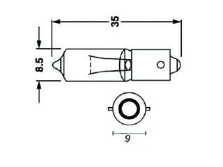 Ampoule BIHR 23W 12V/23W culot BA9S 10pcs - 1ab723da-6e2b-4bc8-b360-7d74751b1a29