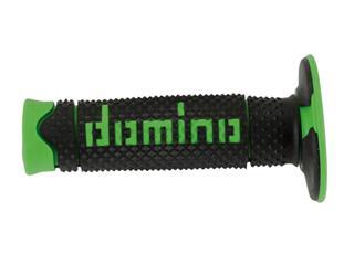 DOMINO A260 DSH Full Diamond Grips Black/Green
