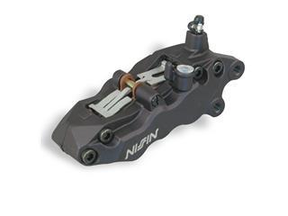 Etrier de frein 6 pistons avant droit noir Nissin