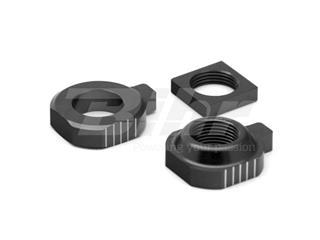 Tensores de eje trasero ART KTM/Husqvarna negro