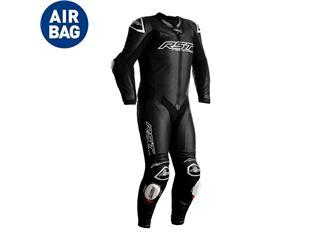 RST Race Dept V4.1 Airbag CE Race Suit Leather Black Size XS Men