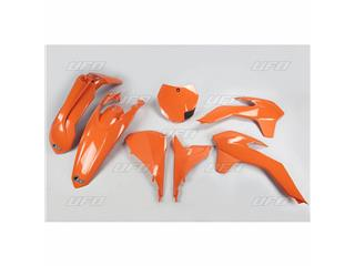 Kit plastique UFO orange KTM - 78544153