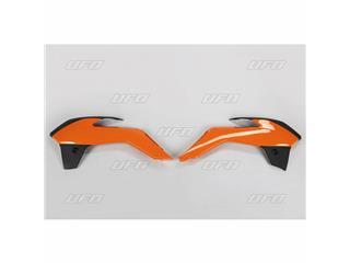 Ouïes de radiateur UFO couleur origine 2013 orange/noir KTM SX85 - 78536999