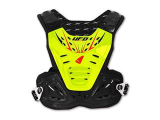 UFO Reactor 2 Evo Chest Protector Black/Yellow Adult Size