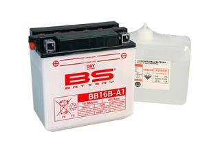 Batterie BS BATTERY BB16B-A1 conventionnelle livrée avec pack acide