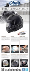 Roll-Up ARAI Renegade-V sans support - 980775