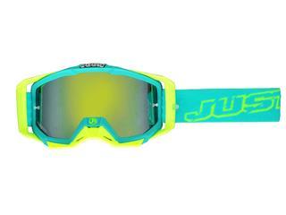 JUST1 Iris Goggle Neon Blue/Yellow - 431380