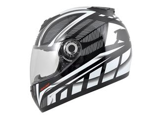 BOOST B530 Helmet Ultra Black/White Size M