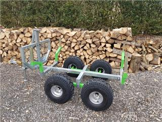 ART Wood Trailer Adjustable Length 210cm to 310cm