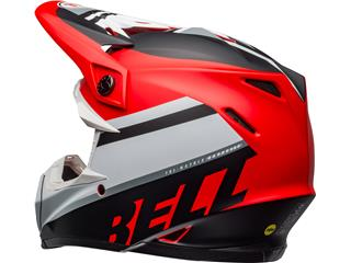 Casque BELL Moto-9 Mips Prophecy Matte White/Red/Black taille XS - 1e301061-3fd1-4ab0-a297-83e647a8d90c