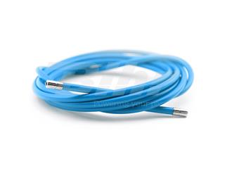 Funda cable acero laminado Ø5 Azul 2m