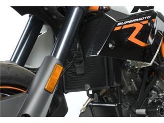 R&G RACING Radiator Guard Black KTM 990 SMR/SMT