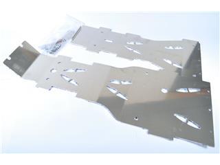 AXP Full Frame Glide Plate Aluminum 4mm Kymco Maxxer