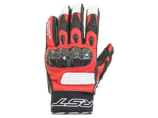 RST Freestyle CE Gloves Leather Red Size S/08