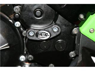 Slider moteur droit R&G RACING noir Kawasaki ZX-10R
