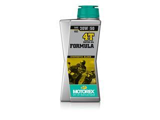 MOTOREX Formula 4T Motoröl 20W50 Semi-synthetisch 1L