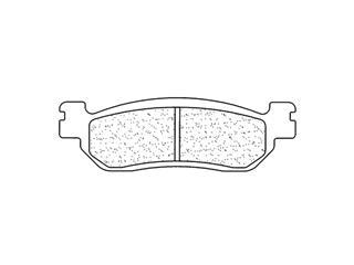 Plaquettes de frein CL BRAKES 2828RX3 métal fritté