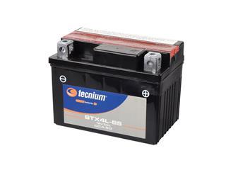 Batterie TECNIUM BTX4L-BS sans entretien livrée avec pack acide - 329791