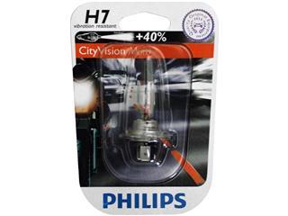 BOITE DE 10 AMPOULES TYPE H7 PHILIPS CITY VISION MOTO - 320066