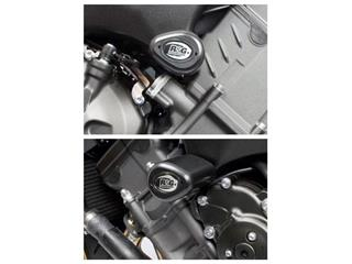 Tampons de protection R&G RACING Aero noir Yamaha