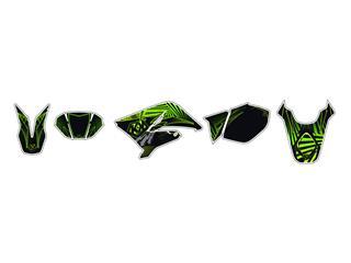 Kit déco KUTVEK Graff vert Rieju MRT50