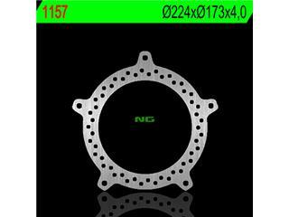 Disque de frein NG 1157 rond fixe - 3501157