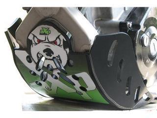 AXP GP HDPE Skid Plate Black Kawasaki KX250F