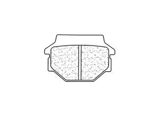 Plaquettes de frein CL BRAKES 2466MX10 métal fritté - 20785694-f9f4-4473-a6d3-532a09c78f19